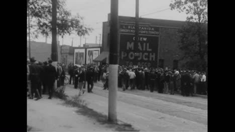 Polizei-Kämpft-Gegen-Bergleute-Während-Eines-Arbeitsaufstandes-In-Pennsylvania-Im-Jahr-1933