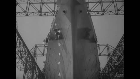 The-Biggest-American-Liner-Is-Launched-By-Eleanor-Roosevelt-In-1939