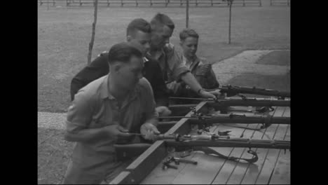 Rifle-Aces-Compete-In-1939