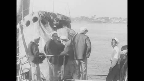 A-Sunken-Ship-Is-Recovered-In-Portsmouth-New-Hampshire-In-1939