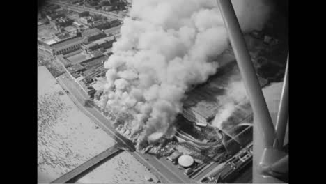A-Fire-Causes-Major-Damage-At-Coney-Island-In-1939