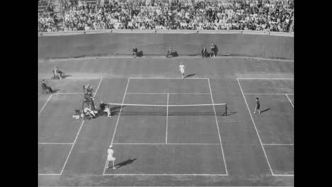 A-1939-Womens-Tennis-Tournament-In-New-York