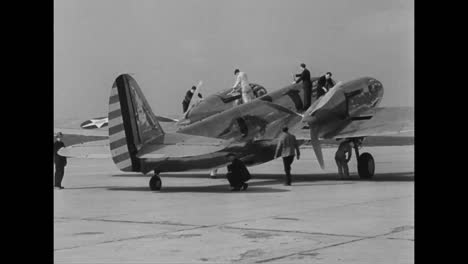 A-New-Air-Force-Jet-Plane-Takes-Flight-In-1939