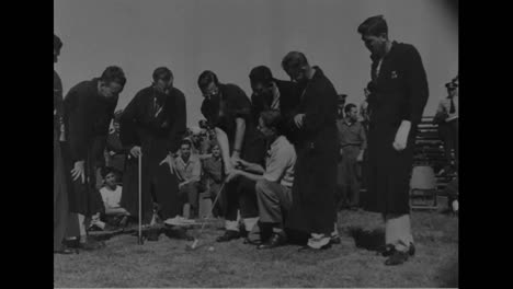 War-Veterans-In-Georgia-Learn-How-To-Golf-In-1945