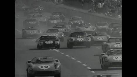 A-Car-Race-In-1964-In-France