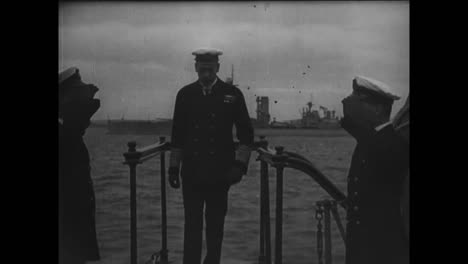 Una-Visita-A-Hms-Barham-En-1918