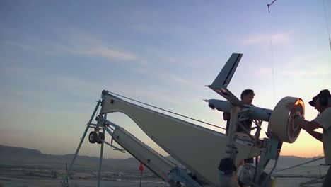 The-Scan-Eagle-Drone-Surveillance-Aircraft-In-Use-By-The-Us-Military-In-Afghanistan