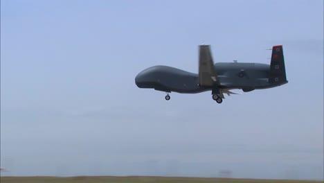 An-Rq4-Surveillance-Drone-Lands-On-A-Runway