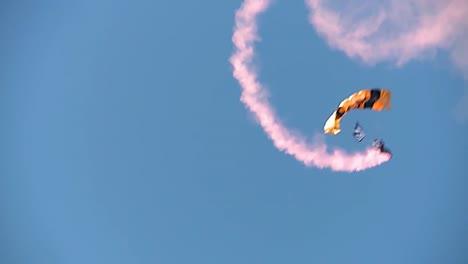 Pov-Go-Material-De-Paracaidismo-Profesional-Del-Equipo-De-Paracaidismo-3-De-Los-Caballeros-Dorados-Del-Ejército-Estadounidense