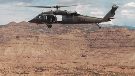 Search-And-Rescue-Helicopters-Fly-Through-The-Mountains-Of-Colorado-And-Utah-1