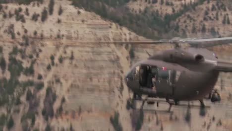 Search-And-Rescue-Helicopters-Fly-Through-The-Mountains-Of-Colorado-And-Utah-2