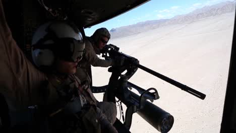 Us-Marines-Conduct-A-Live-Urban-Fire-Exercise-From-A-Light-Attack-Helicopter-1