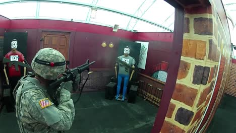 Marines-And-Army-Soldiers-Conduct-A-Live-Fire-Exercise-In-A-Simulated-Terrorist-Compound-1