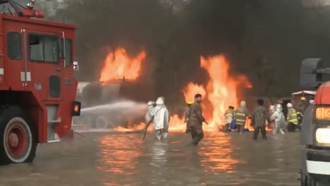 Kabuls-Firemen-Deal-With-Explosions-And-Terrorist-Bombings