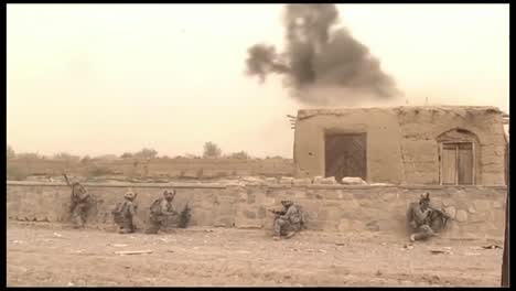 Us-Forces-Engage-With-The-Taliban-In-Afghanistan