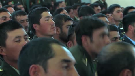 President-Hamid-Karzai-Of-Afghanistan-Greets-Graduates-Of-A-Military-School-1