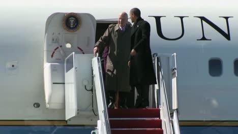 President-Barack-Obama-And-Senator-Patrick-Leahy-Greet-The-Troops