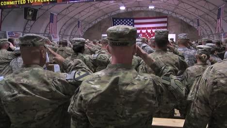 Troops-Salute-General-Petraeus-Before-He-Speaks-To-Troops-In-Kandahar-Afghanistan