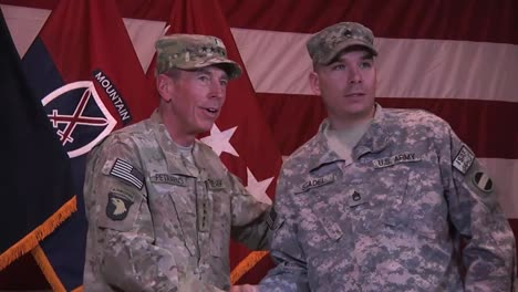 General-Petraeus-Oversees-An-Army-Graduation-Ceremony-In-Afghanistan-In-2012