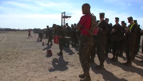 Marines-In-Basic-Training-Compete-In-Various-Workout-Drills