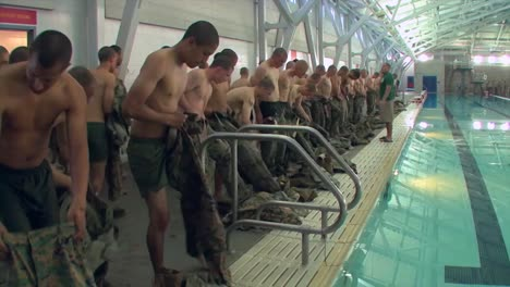 Marines-In-Basic-Training-Learn-Swimming-And-Aquatic-Rescue-Skills
