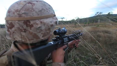 Australian-Defense-Forces-Engage-With-Us-Forces-In-Simulated-Tactical-Combat-Maneuvers