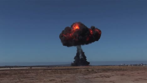 An-Explosion-Occurs-On-An-Airport-Runway