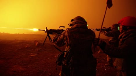 Us-Marines-Fire-Artillery-In-A-Massive-Live-Fire-Exercise