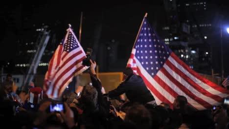 People-In-Washington-Dc-Rush-To-Celebrate-The-Death-Of-Osama-Bin-Laden