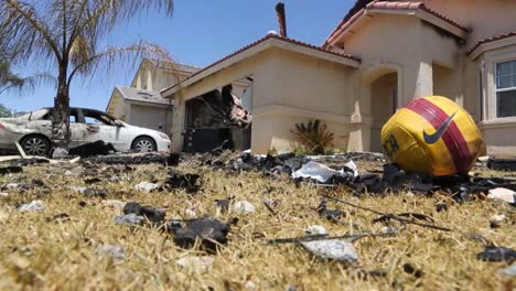 A-Jet-Aircraft-Crashes-Into-A-Suburban-Neighborhood-In-2014-In-Imperial-California