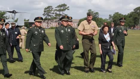 Chinese-Minister-Of-Defense-Liang-Guanglie-Visits-Camp-Lejeune-Nc