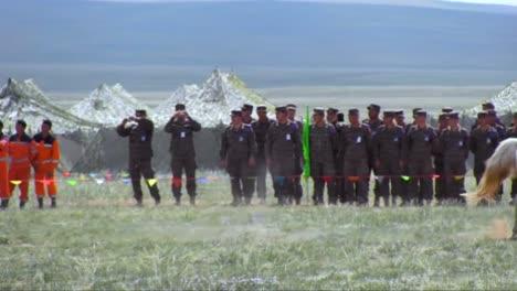 Mongolian-Horsemen-Ride-In-A-Ceremonial-Event-1
