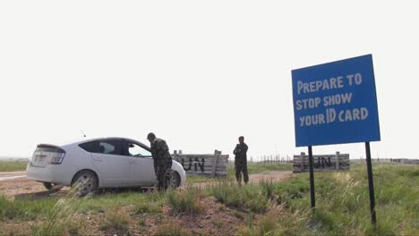Us-Soldiers-Train-Mongolian-Armed-Forces-In-How-To-Man-A-Vehicle-Checkpoint