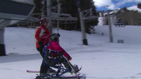 A-Wounded-Female-Veteran-Competes-In-Winter-Sports-At-A-Ski-Resort-1