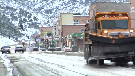 The-Town-Of-Ely-Nevada-In-Winter