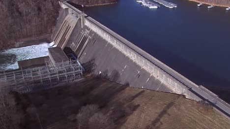 Aerial-Over-The-Norris-Dam-Hydroelectric-Generation-In-Tennessee-1