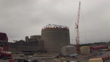 Time-Lapse-Of-A-Nuclear-Power-Plant-Being-Built-Sequoyah-Tennessee