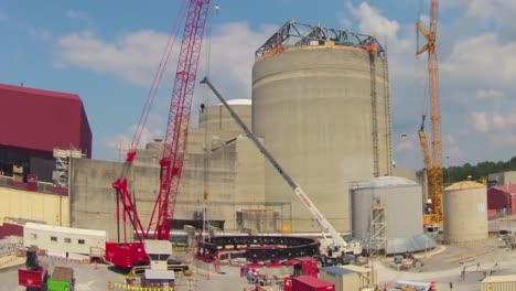 Lapso-De-Tiempo-De-Una-Planta-De-Energ�a-Nuclear-En-Construcci�n-Sequoyah-Tennessee-3-Lapso-De-Tiempo-De-Una-Planta-De-Energía-Nuclear-En-Construcción-Sequoyah-Tennessee-3