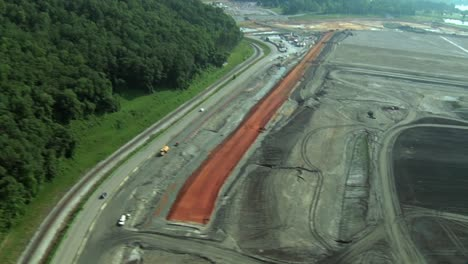 Aerials-Of-The-2008-Kingston-Ash-Slurry-Spill-Environmental-Disaster-In-Tennessee