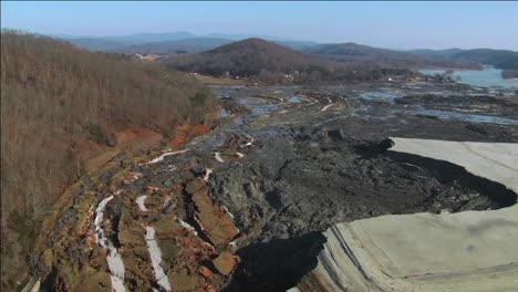 Aerials-Of-The-2008-Kingston-Ash-Slurry-Spill-Environmental-Disaster-In-Tennessee-1