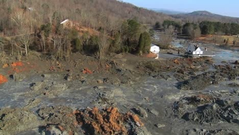 Aerials-Of-The-2008-Kingston-Ash-Slurry-Spill-Environmental-Disaster-In-Tennessee-2