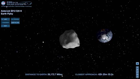 Nasa-Animation-Of-An-Asteroid-Moving-Through-Space-And-Approaching-Earth-2