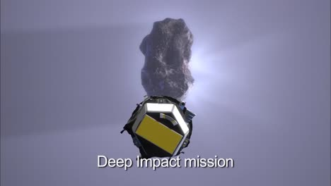 Nasas-Deep-Impact-Space-Mission-Is-Illustrated-In-This-Animation