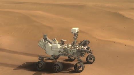 Animación-De-La-Nasa-Del-Rover-Curiosity-En-La-Superficie-De-Marte-1
