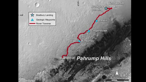 Mt-Sharp-On-Mars-Is-Explored-By-Nasas-Curiosity-Rover