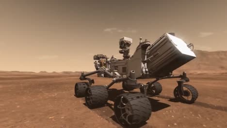 Nasa-Animation-Of-The-Curiosity-Rover-In-Operation-On-Mars