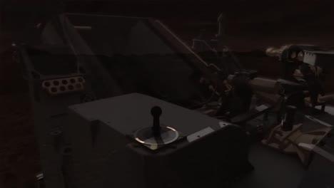 Animación-De-La-NASA-Del-Rover-Curiosity-Explorando-La-Superficie-De-Marte-1