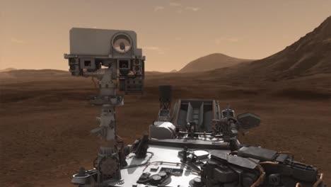Animación-De-La-NASA-Del-Rover-Curiosity-Explorando-La-Superficie-De-Marte-2