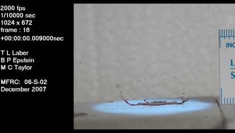 A-Forensics-Crime-Lab-Studies-A-Slow-Motion-Blood-Drop-Falling-Onto-Cement