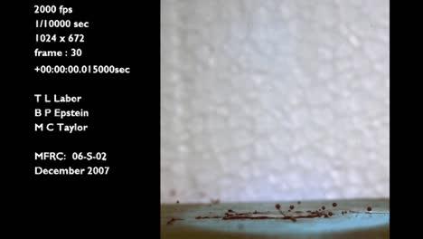 A-Forensics-Crime-Lab-Studies-A-Slow-Motion-Blood-Drop-Falling-Onto-Wood